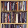 A Big Bookshelf, 2004, coloured pencils on paper, 104x104 cm