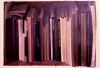 Bookshelf 2, 1984, oil on paper, 56x76 cm
