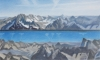 CHAMONIX 1, 2016, coloured pencils on paper, 60 x 100 cm