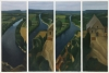 Dordogne, 2014-15, oil on canvas, 130 x 195 cm