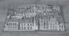 The Roofs of Paris, 2008, pencil on paper, 56x110 cm