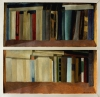 Two bookshelves, 1984, oil on paper, 85x88 cm